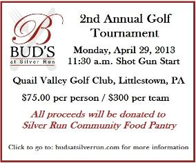 This link takes you to Bud's at Silver Run's website.